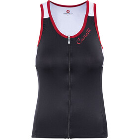 Castelli Solare Top Women black/white/red